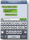 messages sms en direct animation mariage